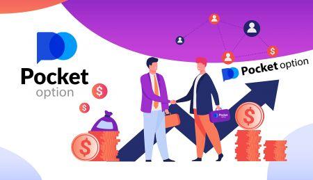 Как присоединиться к партнерской программе и стать партнером в Pocket Option